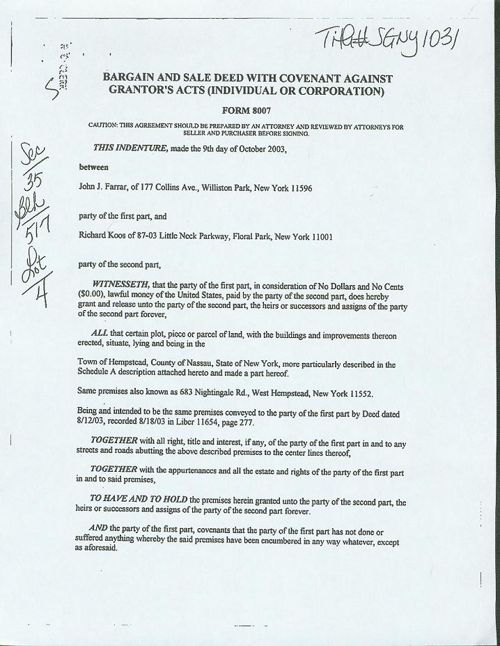 Here is a scan of the deed for